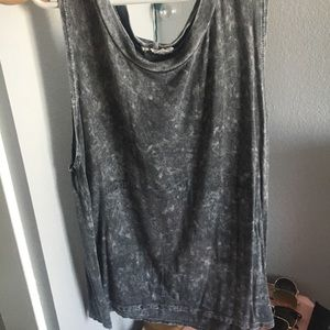Tops - Muscle gray tank